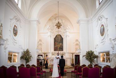 海外ウェディング イタリア サン・カルロ教会