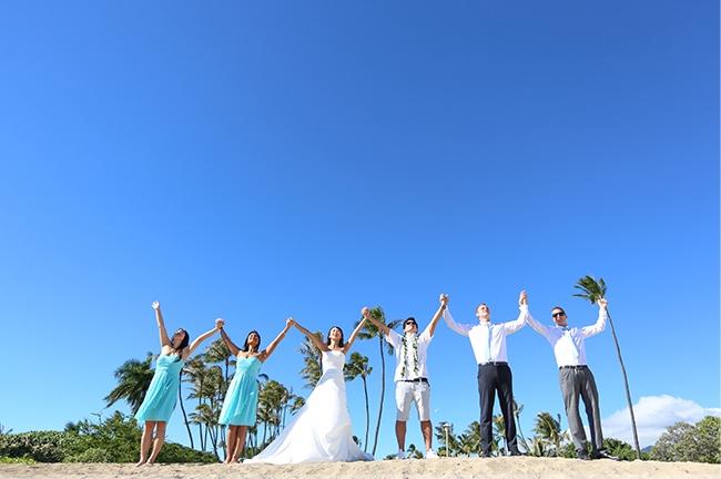 ハワイビーチ撮影